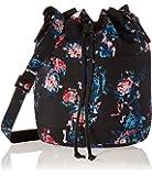 Herschel Supply Co. Heritage Mid-Volume Backpack, Floral Blur/Black Pebbled Leather