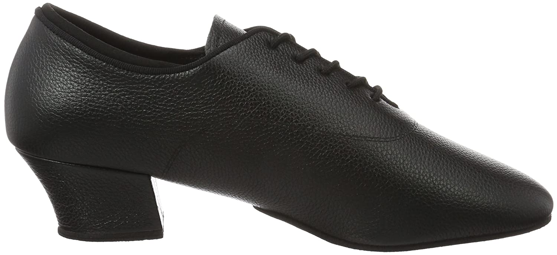 Diamant Herren Latein Tanzschuhe 138-224-034, Chaussures de Danse de Salon Homme - Noir, 47.1/3 EU (12 UK)