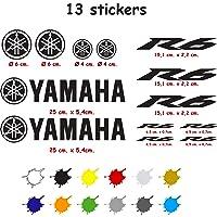 Kit de Pegatinas Troqueladas Compatible Yamaha r6 Vinilo