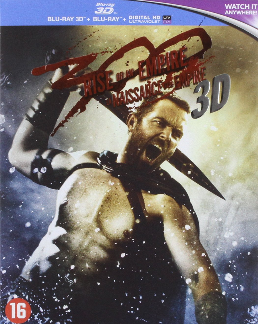 300 - Rise of an empire 3D [Reino Unido] [Blu-ray]