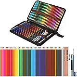 Watercolor Pencils, AGPTEK Professional Watercolor Pencils Set, 48 Colored Pencils with Dip Pens,Pencil Extender,Three…