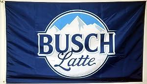 Mountfly Busch Latte Flag Banner 3x5 Feet Man Cave