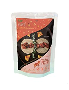 Asante Plant-Based Pastor - Vegan Meatless Pork - Vegetarian Food, Meat Substitute with Authentic Mexican Flavor - Fresh, Delicious Flavors Made with Natural, Organic Ingredients