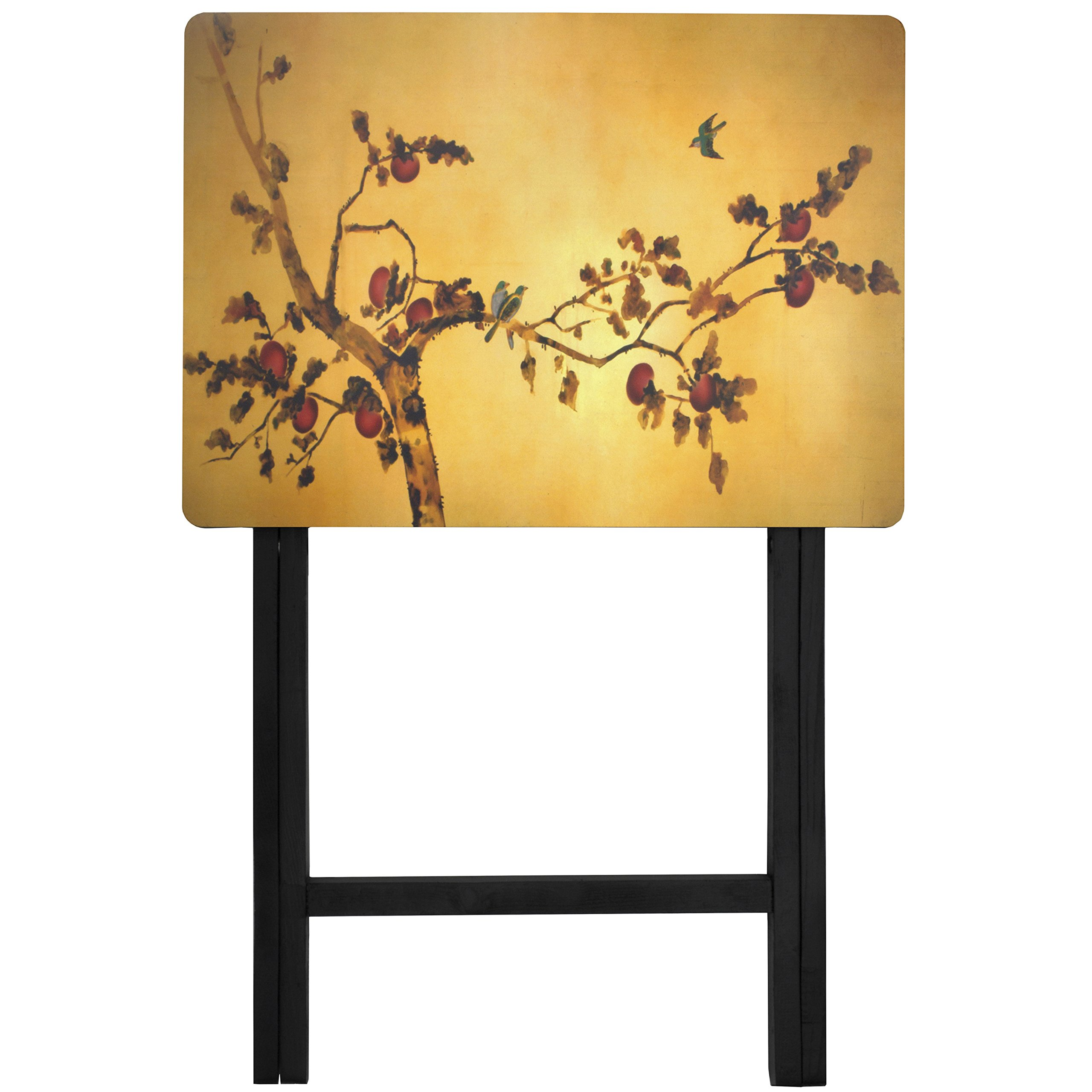 Oriental Furniture Plum Blossom TV Tray by ORIENTAL FURNITURE (Image #2)