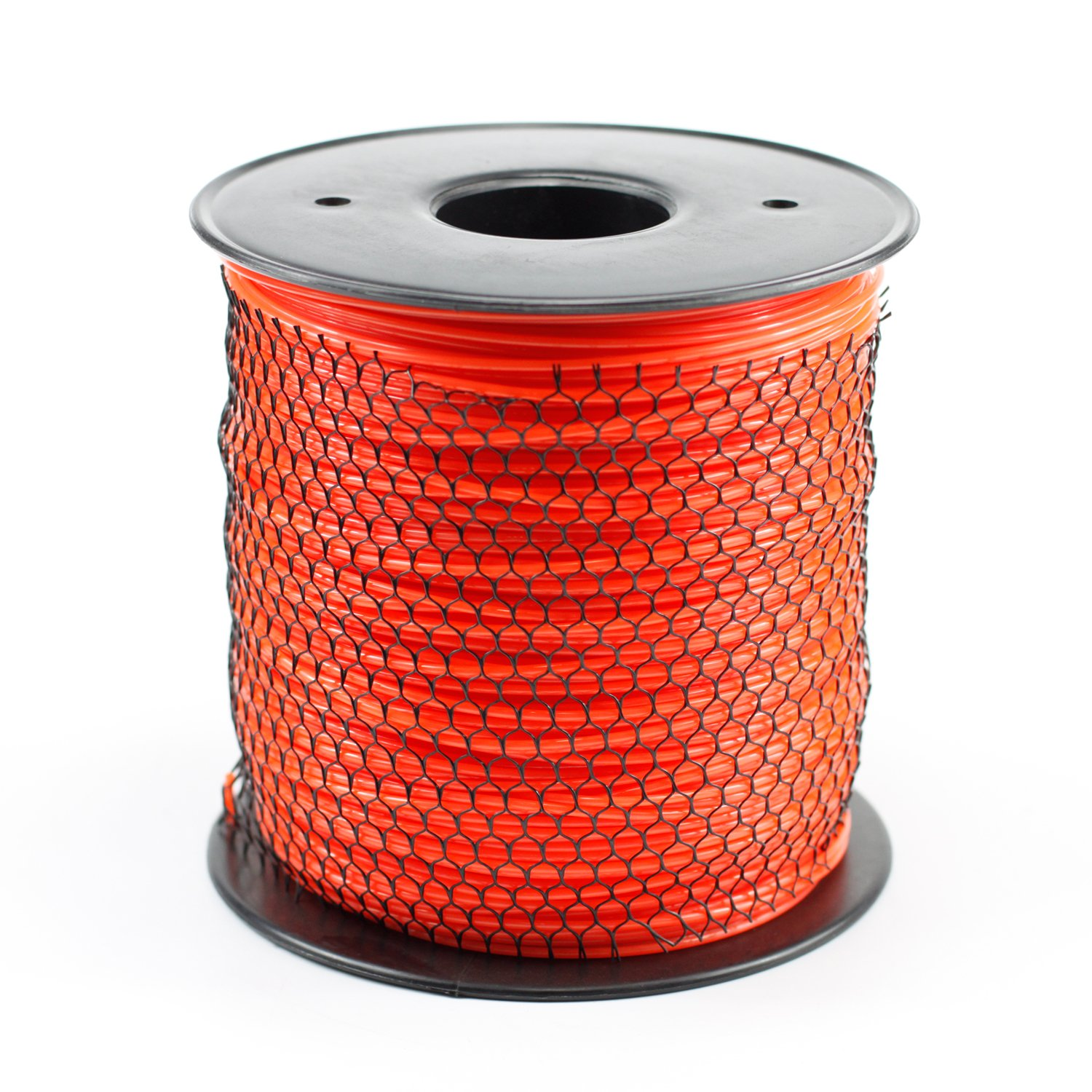 Parts Camp Trimmer Line .095 5Lb Orange Round 1430' Length Commercial Spool of line by Parts Camp