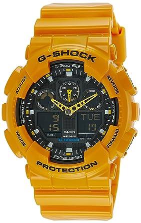 Buy casio g shock analog digital black dial mens watch ga 100a casio g shock analog digital black dial mens watch ga 100a fandeluxe Choice Image