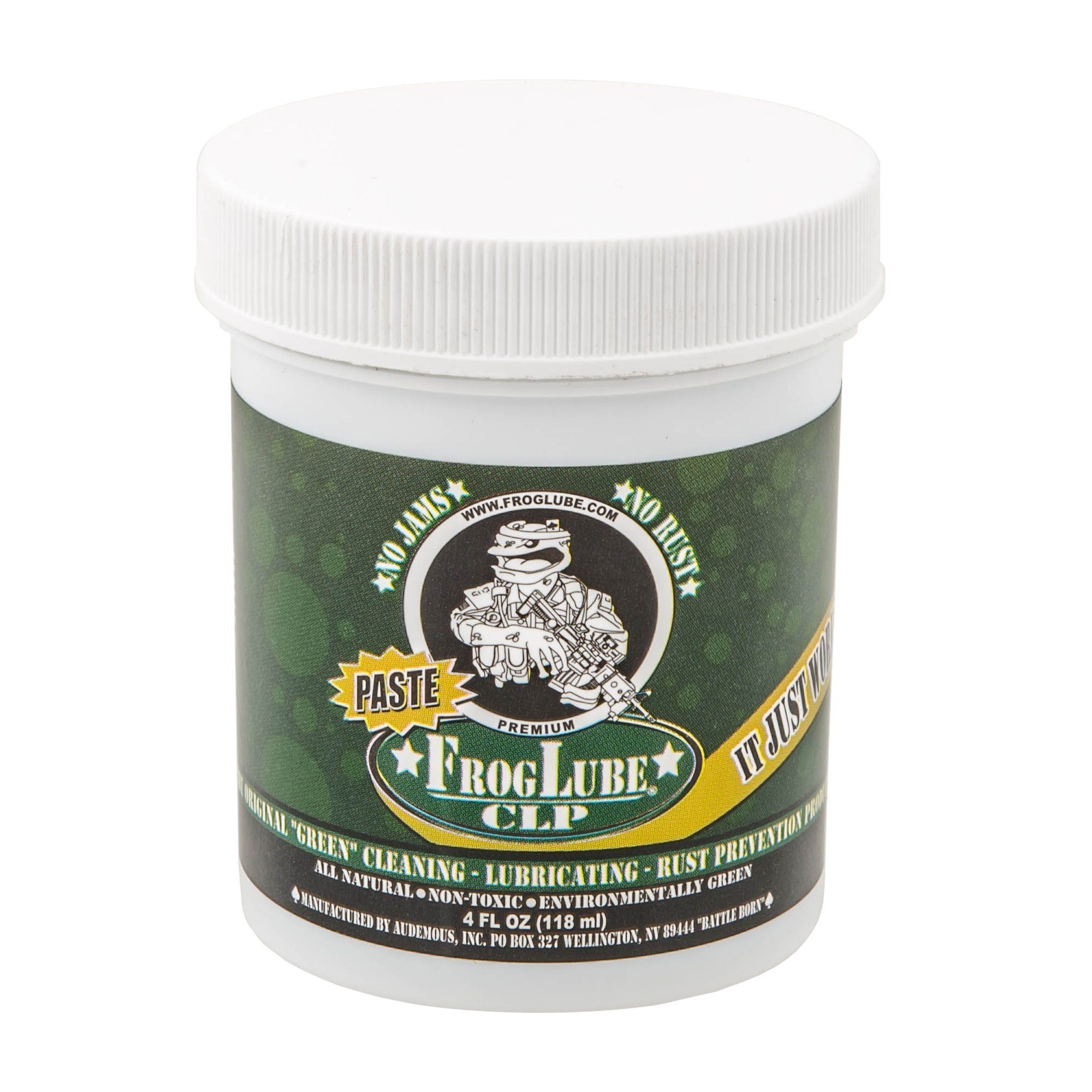 Froglube CLP 4 Oz. Tub of Paste Gun Cleaner Lubricant Protectant by Frog Lube