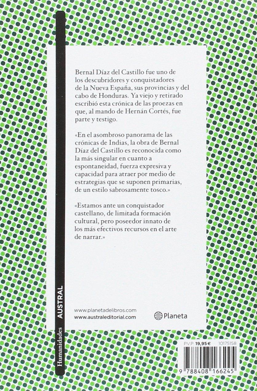 Historia verdadera de la conquista de la Nueva España Clásica: Amazon.es: Díaz del Castillo, Bernal: Libros