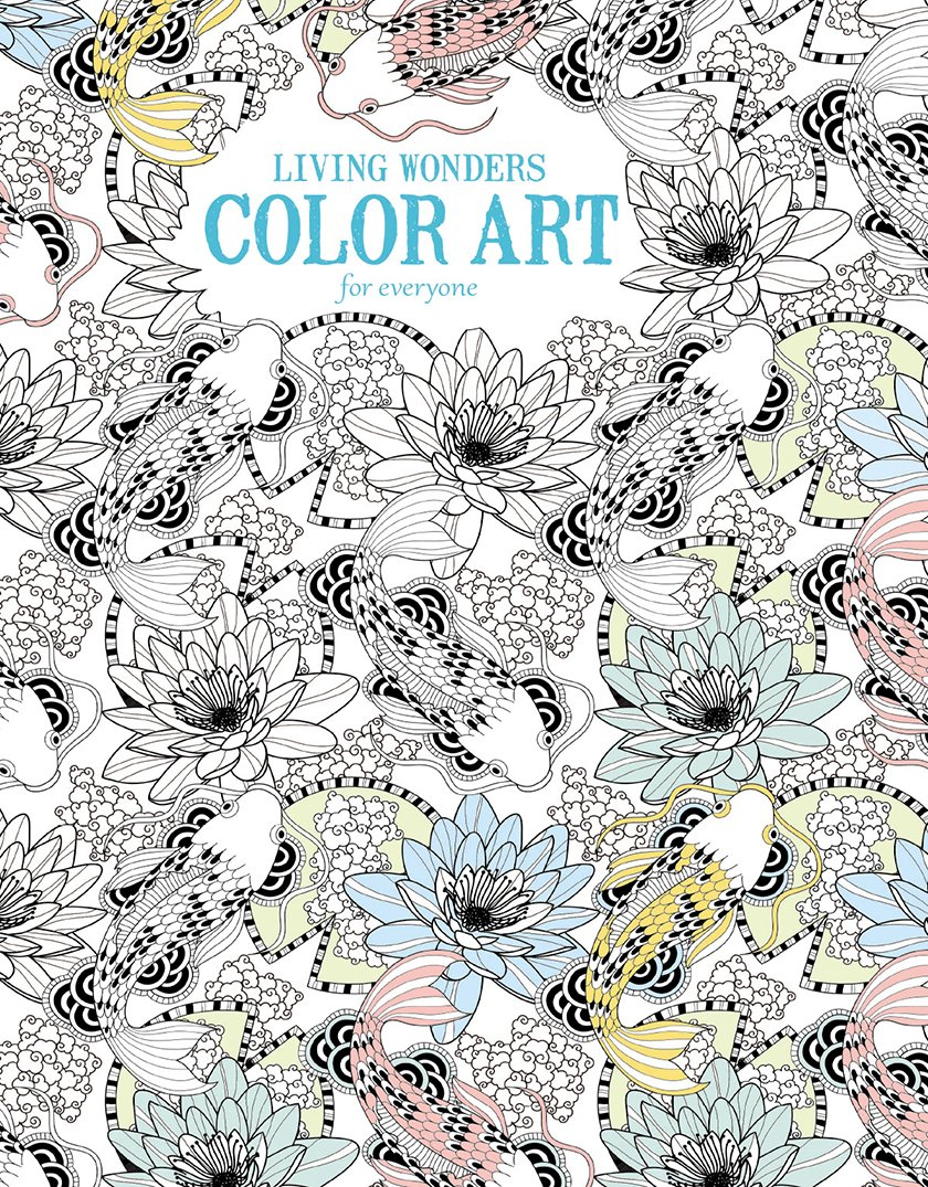 Coloring book color of art - Amazon Com Living Wonders Color Art For Everyone Leisure Arts 6705 9781464750410 Leisure Arts The Guild Of Master Craftsman Publications Ltd