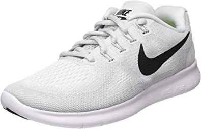 Nike Wmns Free RN 2017, Zapatillas de Running para Mujer, Multicolor (White/Black/Pure Platinum 101), 36 EU: Amazon.es: Zapatos y complementos