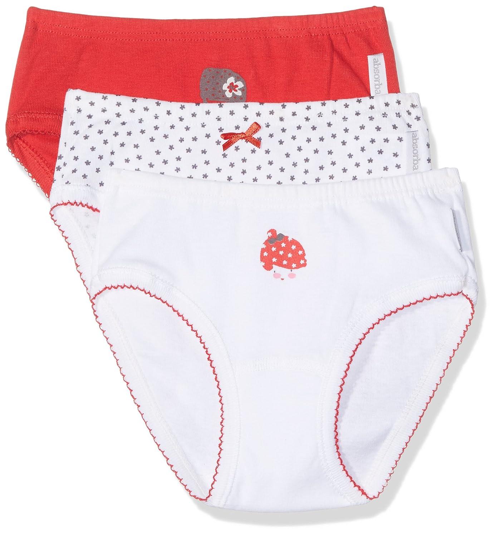 Pacco da 3 Absorba Underwear Mutande Bambina