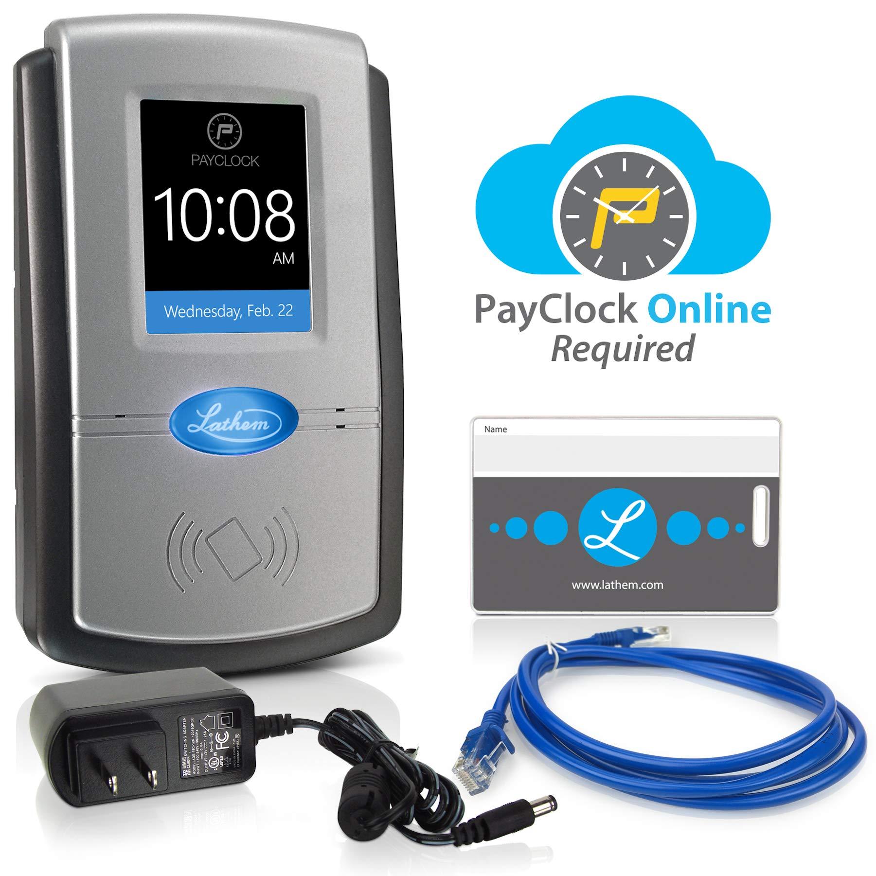 Lathem Wi-Fi Time Clock System (PC700-WEB) by Lathem