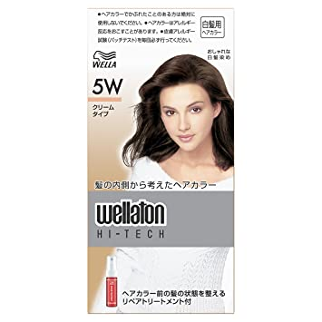 Pg Wella Wellaton High Tech Hair Color Cream 5wdeep Warm Maroon