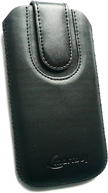 Talla 4XL Emartbuy/® THL T6 Pro 5 Inch Android Smartphone Negro//Negro Premium Cuero PU Funda Carcasa Case Tipo Bolsa con Mecanismo de Pesta/ña para Estirar