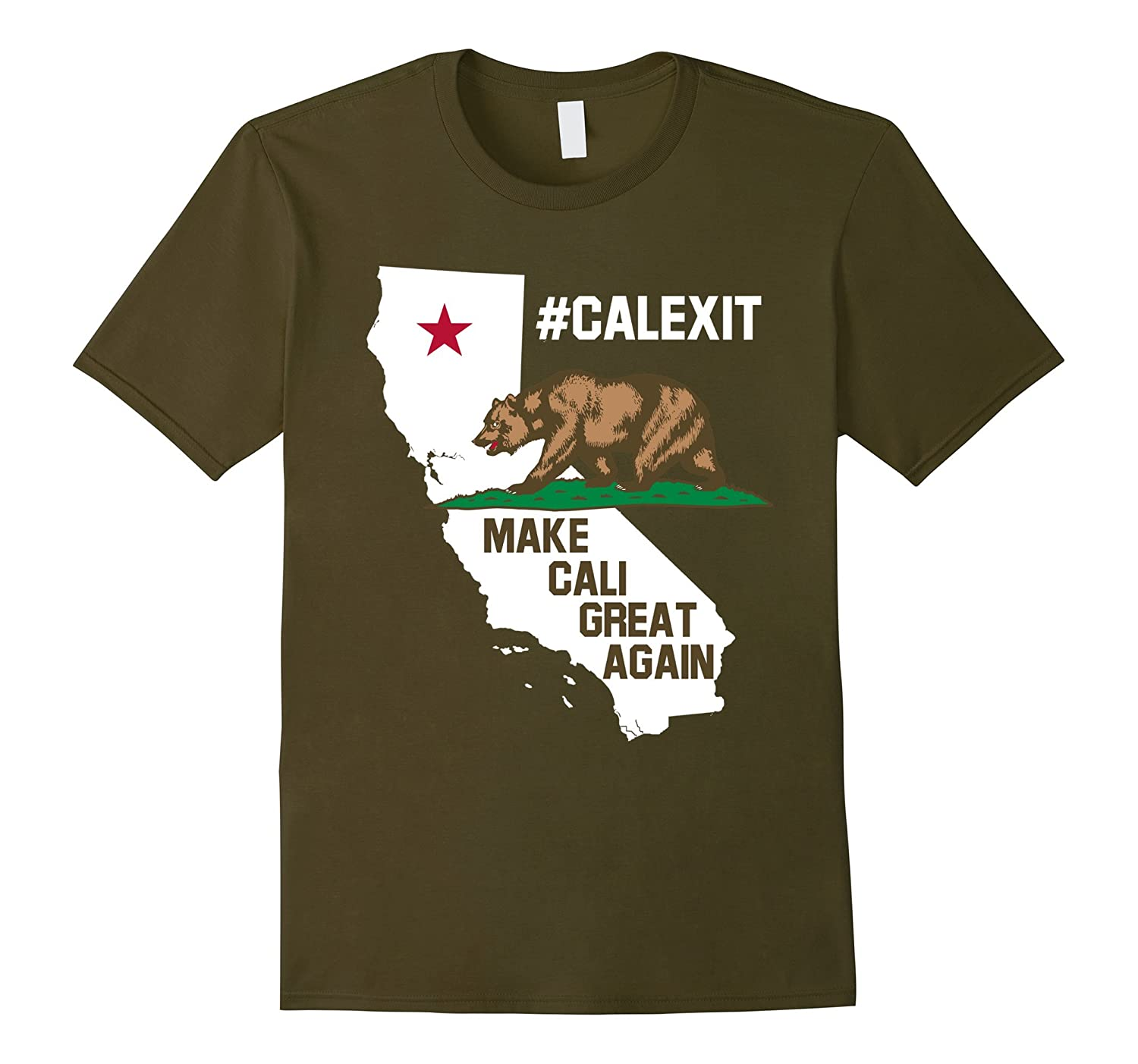 #CalExit - Make Cali Great Again T-shirt-Art