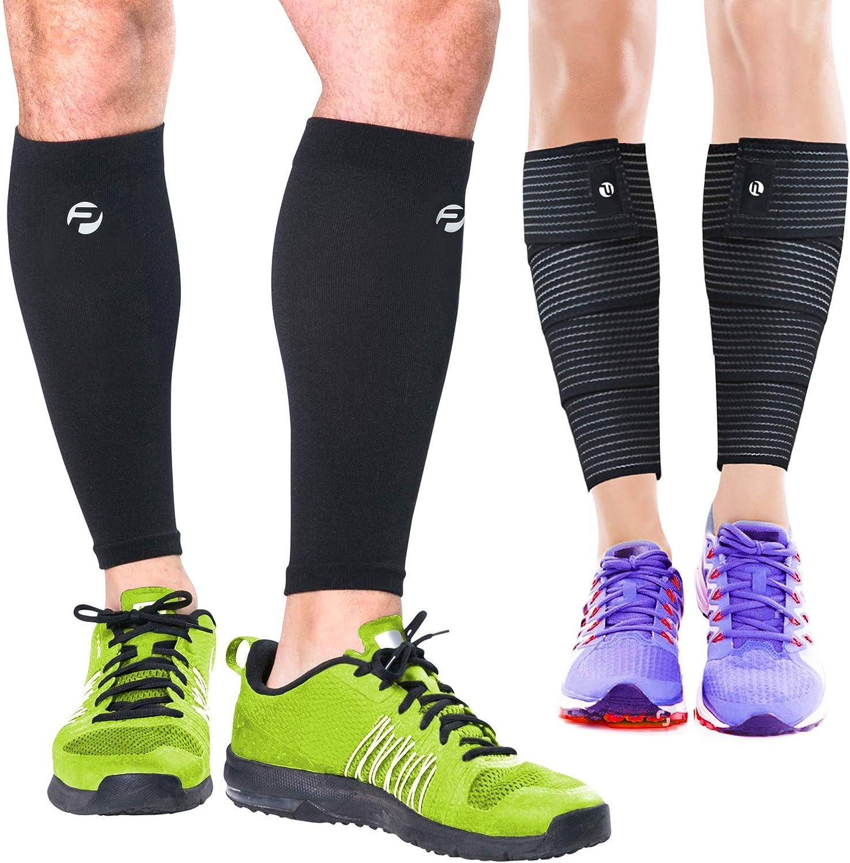 Calf Compression Sleeve Socks Brace Support for Sport Joint Pain Arthritis,Shin Splint,Calf Pain Relief Leg Support Sleeve