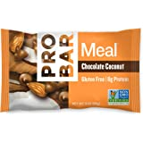 PROBAR - Meal Bar - Chocolate Coconut - Gluten Free, 8g Protein, & Non-GMO - Pack of 12