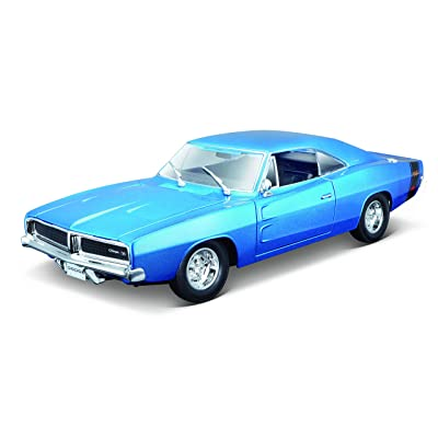 Maisto 1/18 1969 Dodge Charger (Colors May Vary): Toys & Games