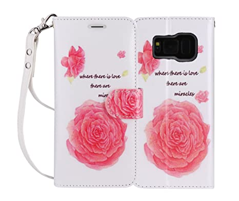 Carcasa Samsung Galaxy S8 Plus, carcasa Galaxy S8 Plus, Fyy® [RFID cartera Bloqueo] piel auténtica ...