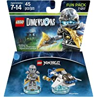 LEGO Dimensions Fun Pack Ninjago Zane - Ninjago Zane Edition