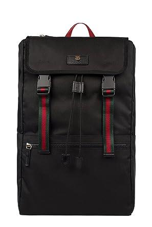 Gucci Homme 450982K1NGX8547 Noir Polyamide Sac À Dos  Amazon.fr ... f0737de2c3e