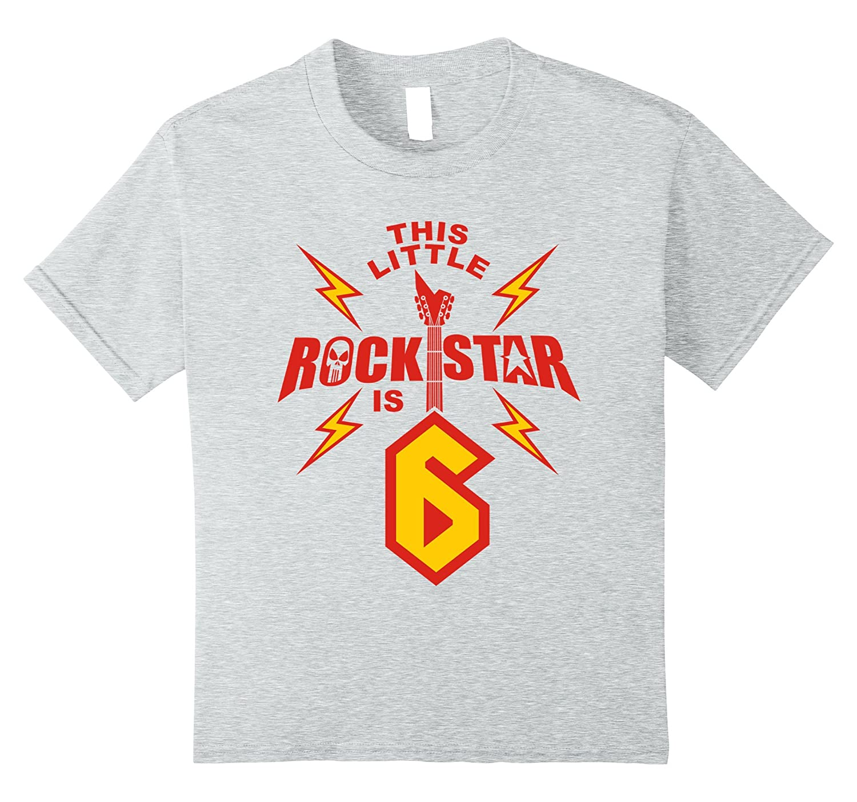 unisex child Birthday Boys Rockstar T Shirt-Awarplus