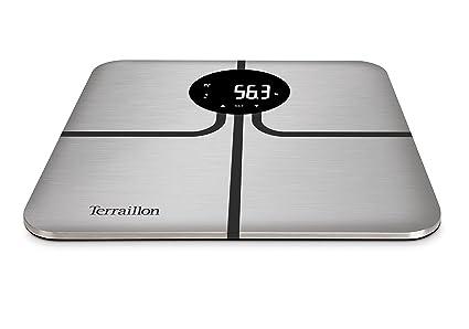 Terraillon - Báscula, 150 kg, R-Series, color gris