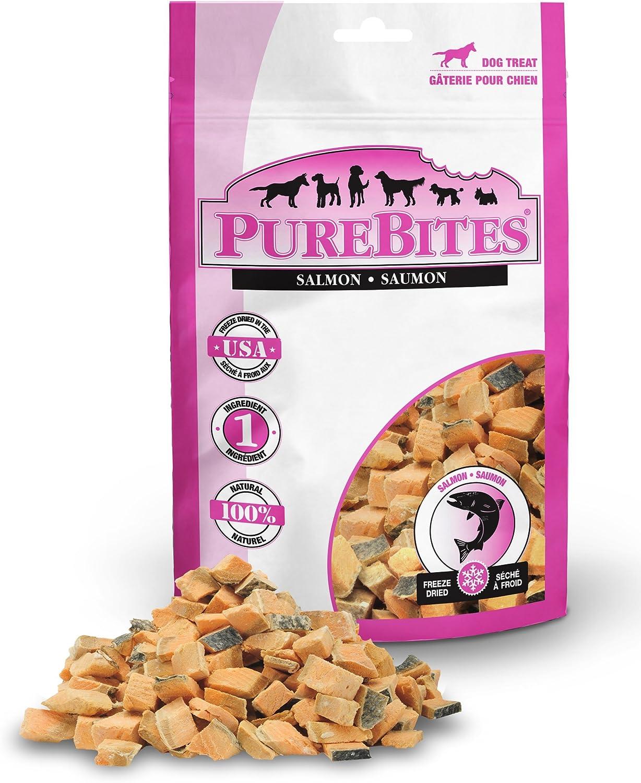 PureBites Salmon Freeze Dried Dog Treats