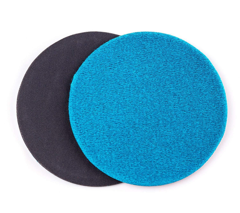 4.5 inch (115mm) GP50 Abrasive Disc for Glass Scratch Repair, FINE GRADE (pack of 10 discs) GLASS POLISH 13402