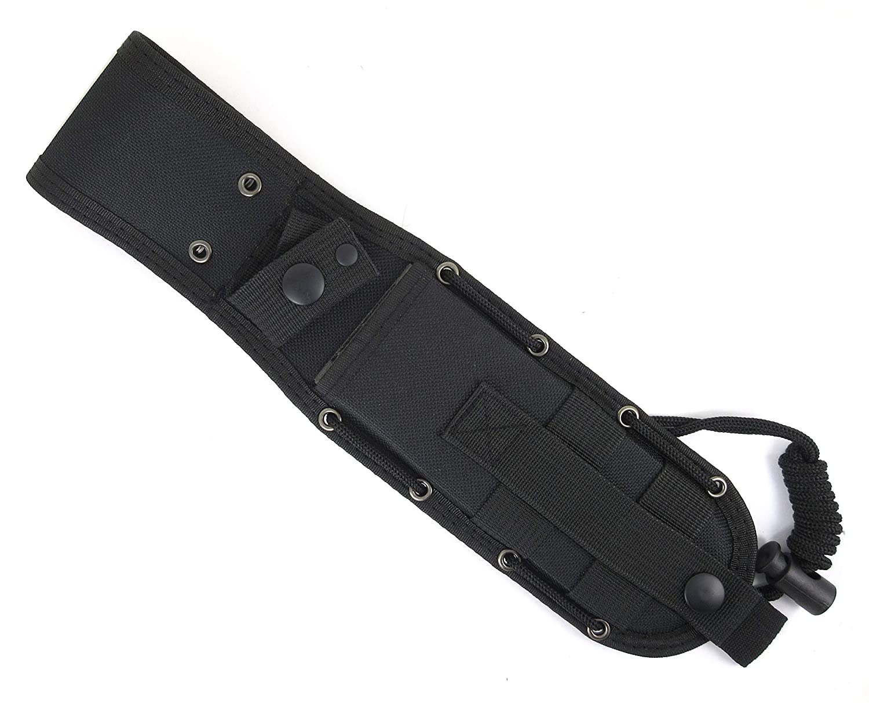 JEO-TEC Funda para Cuchillos de Bushcraft Supervivencia Caza ...