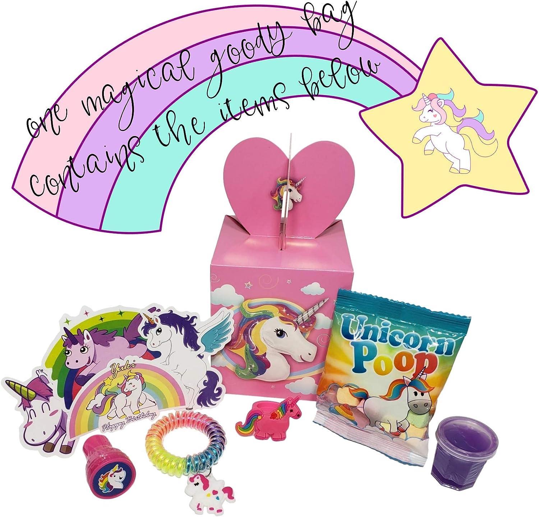 Amazon.com: Bolsas de unicornio prerellenas con estuches ...