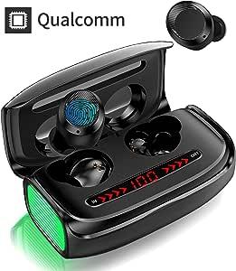 GRDE Auriculares Inalámbricos Bluetooth, Auriculares con ...