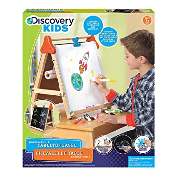 Playwell Wooden 3 in 1 Table Top Easel