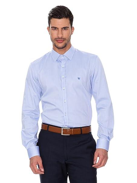 Caramelo Camisa Traje Azul 39: Amazon.es: Ropa y accesorios