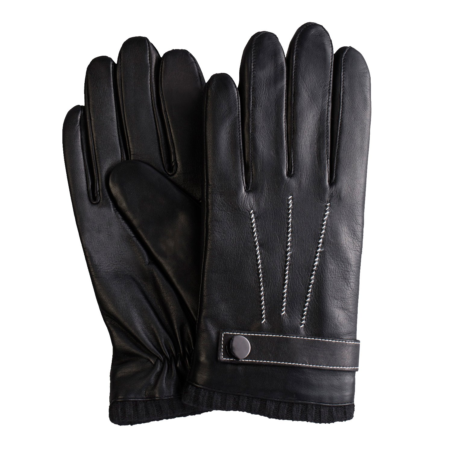 Vw leather driving gloves - Amazon Com Gsg Mens Luxury Genuine Nappa Leather Gloves Hi Tech Touchscreen Driving Gloves Father S Day Surprise Clothing