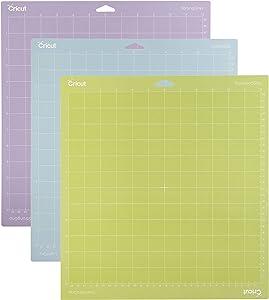 Cricut Variety Pack(1 StrongGrip, 1 LightGrip, 1 StandardGrip) Adhesive Cutting Mat 12