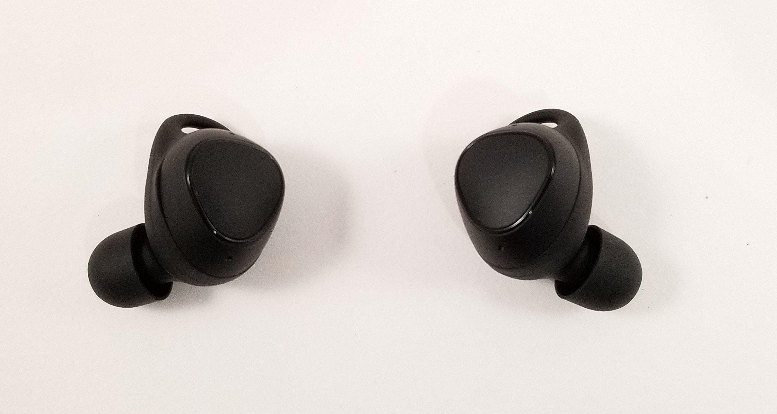 Samsung Gear IconX (2018 Edition) Cord-free Fitness Earbuds (International Version -No Warranty) (Black)