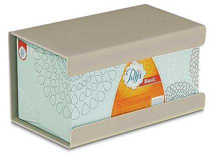 Compatible con pa/ñuelos faciales Kleenex y Otras servilletas TFY Color Negro Soporte de Pared para pa/ñuelos de Cocina