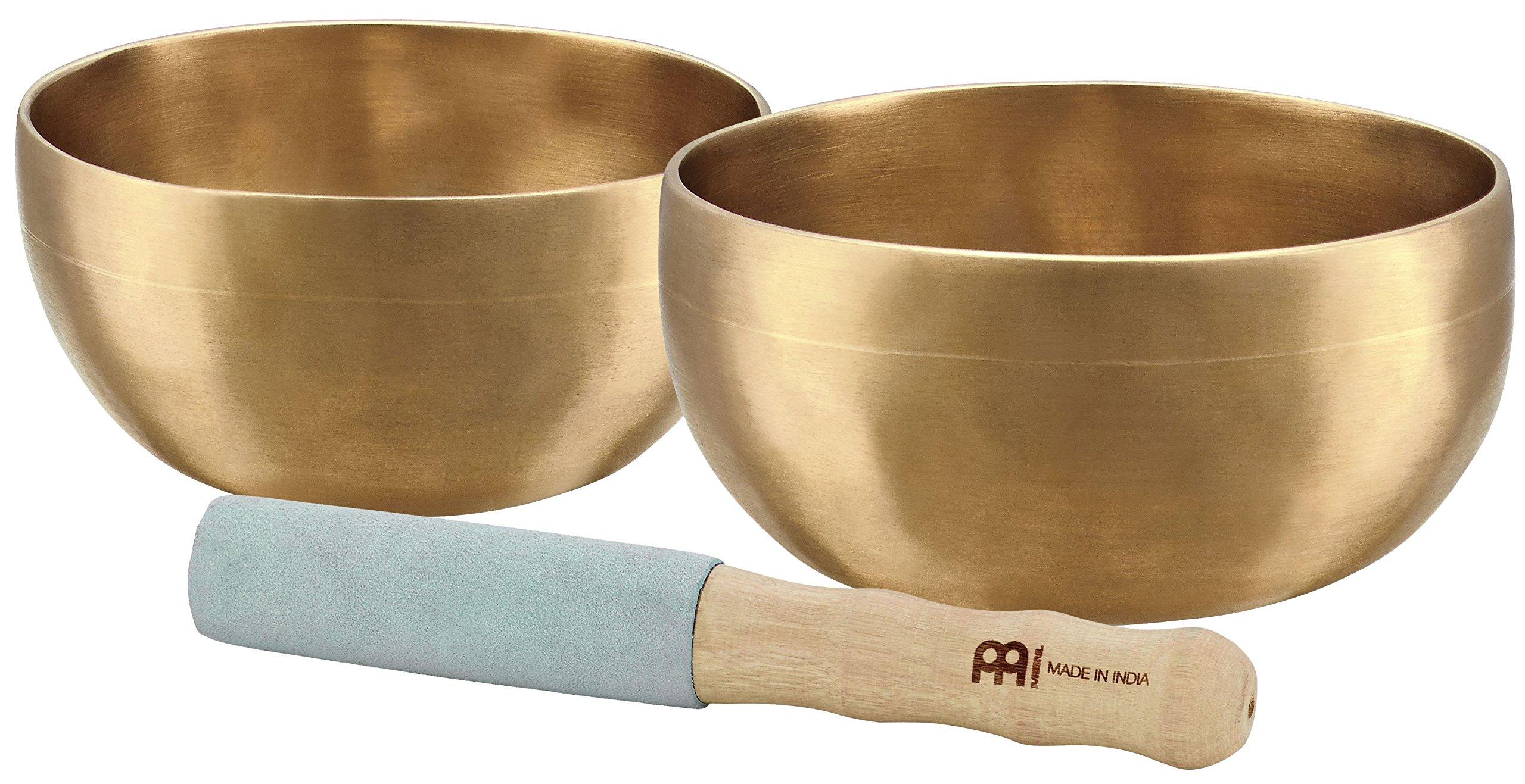 Meinl Sonic Energy SB-U-900 2-piece Universal Singing Bowl Set with Resonant Mallet