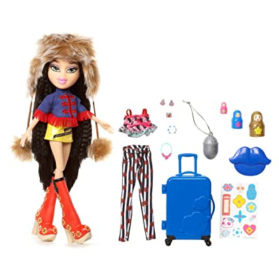 Bratz Study Abroad Doll- Jade to Russia: Toys & Games