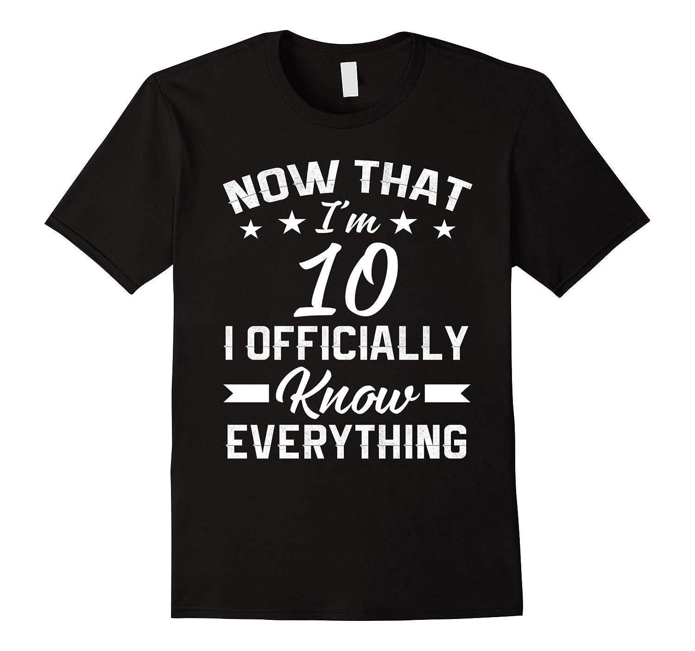 Im 10 Birthday Shirt