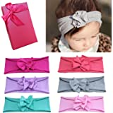 Elesa Miracle Baby Hair Accessories Lovely Baby Girl's Gift Box with Bow Flower Hair Headband