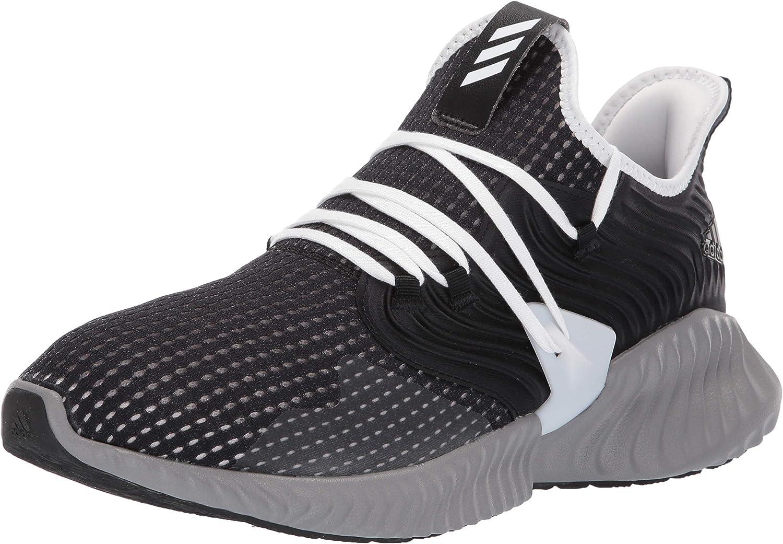 Adidas Alphabounce Instinct CC Chaussures de course pour homme Noir Blanc Gris