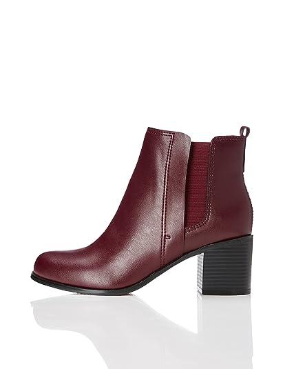 259b45d5360477 FIND Bottines Femme: Amazon.fr: Chaussures et Sacs