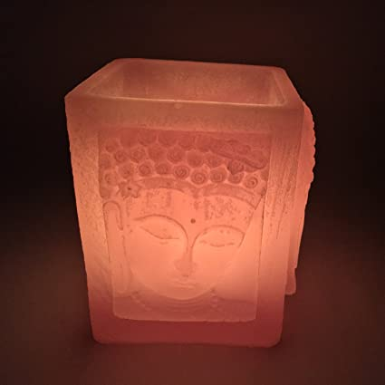 Buddha Candle   Light Pink   Lifetime Reusable Candle   Ideal For Home Decor    Unique