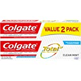 Colgate Total Toothpaste, Clean Mint - 4.8 ounce, 2 pack