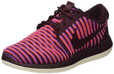 huge discount 5b2ba de30f Nike Womens Roshe Two Flyknit Running Trainers 844929 ...