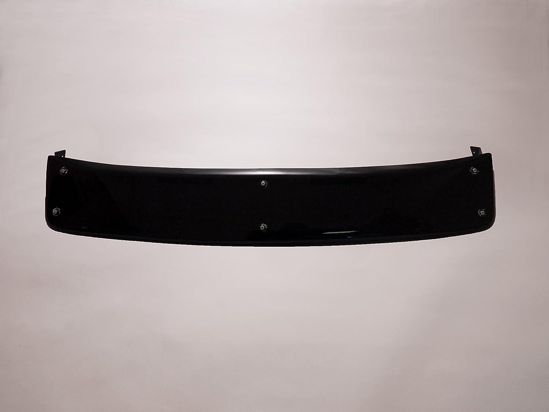Exterior Black Sun Visor Shield for Vauxhall Vivaro 2001-2014