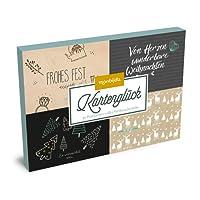 Kartenglück – hyggelige Weihnacht: 30 Postkarten im Set (monbijou)