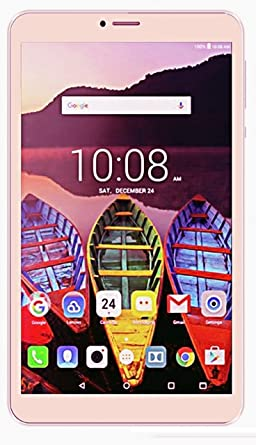 Ikall N1 Tablet (8 inch, 8GB, WiFi + 4G LTE + Voice Calling), Gold Tablets at amazon
